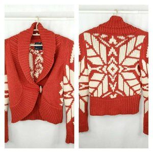 American Eagle Outfitters Y2K Chunky Knit Cardigan